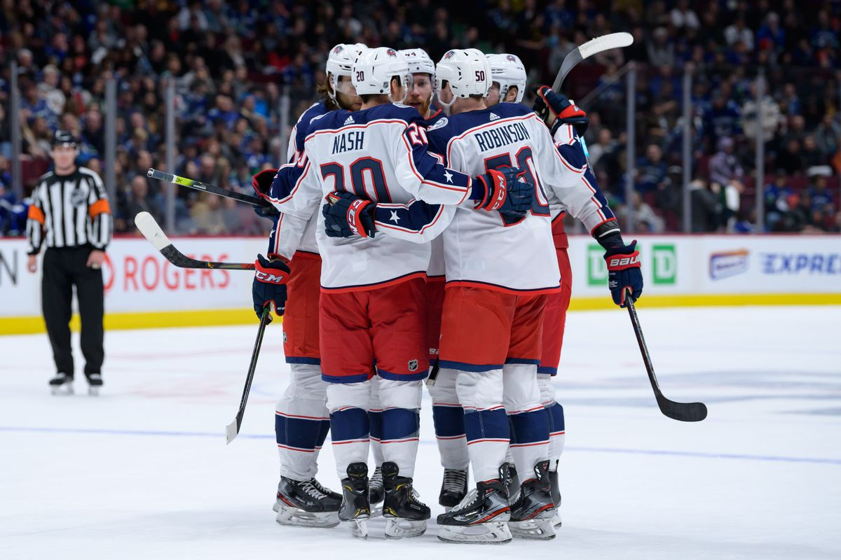 NHL: MAR 08 Blue Jackets at Canucks