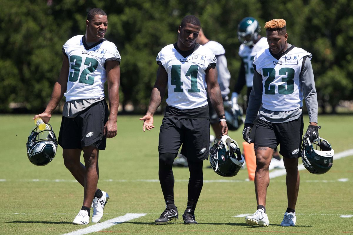 Defensive Eagles training camp position battles are limited 9853c5747