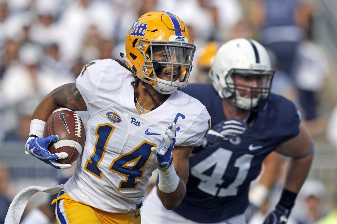 buy popular 12e18 a66f1 9 thoughts about Pitt's extremely Pittsburgh new uniforms ...