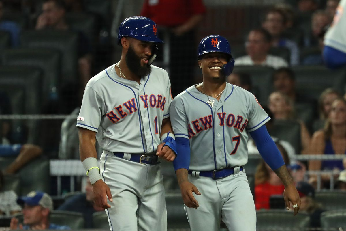 A late comeback from Atlanta wasn't enough in the Mets; 10-8 win