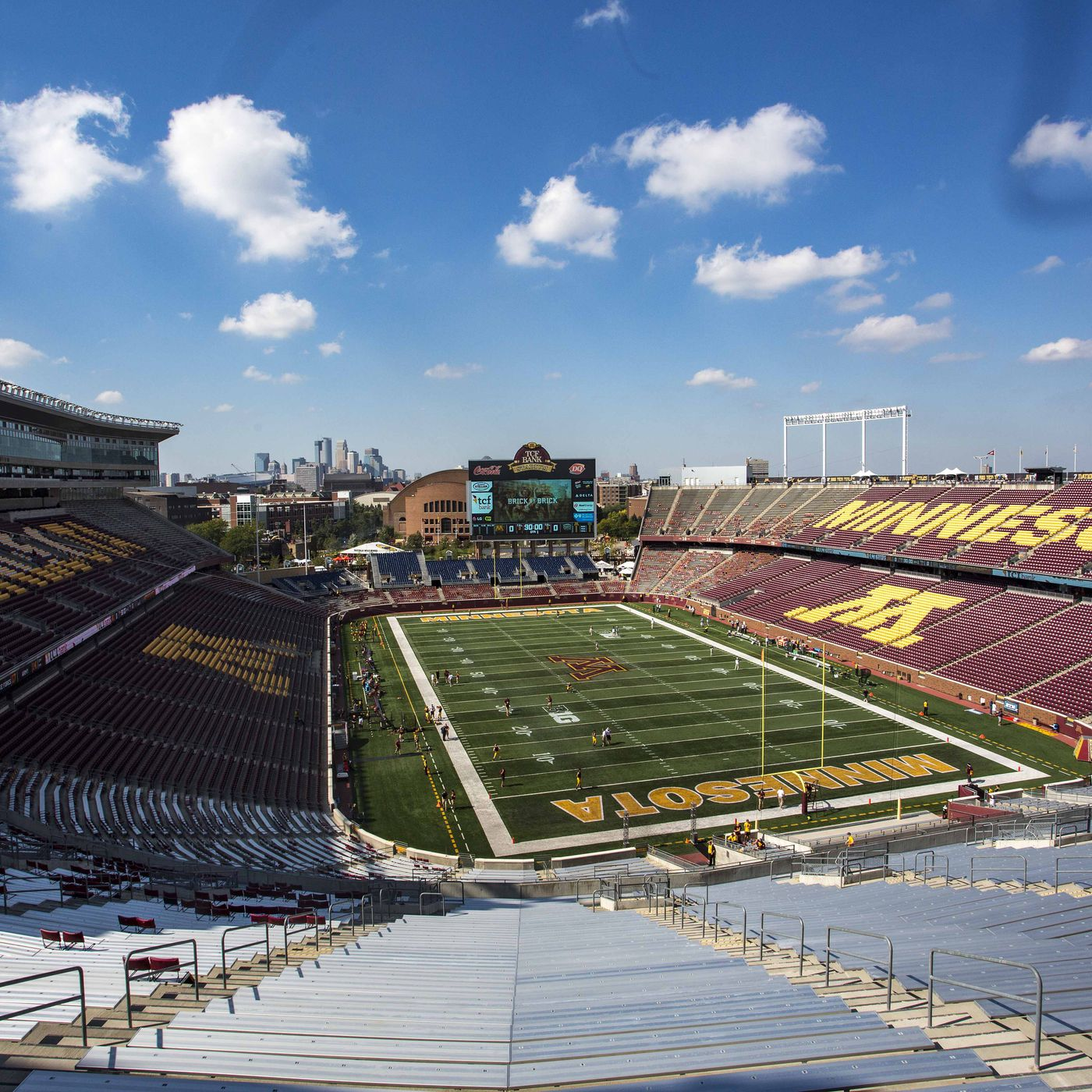 Minnesota Football TCF Bank Stadium s New Field Turf Is In The Daily Gopher
