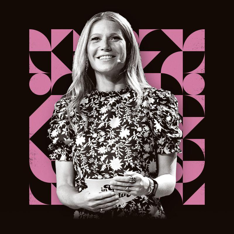 A photo illustration featuring Goop founder  Gwyneth Paltrow.