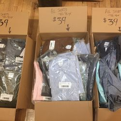 Ernest Alexander shirts, $39