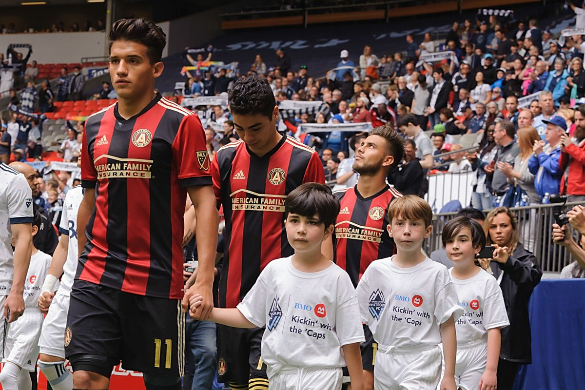 MLS: Atlanta United FC at Vancouver Whitecaps FC