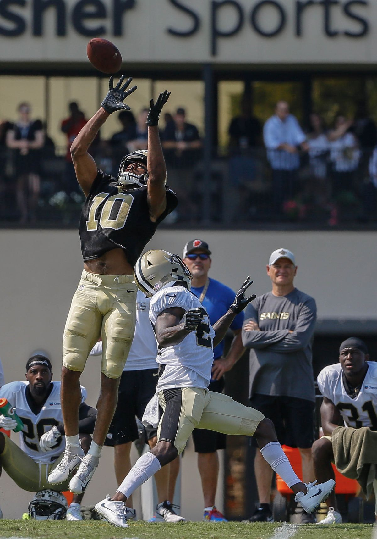 Five position battles to watch when the Saints play the Jaguars ... 1124c8636