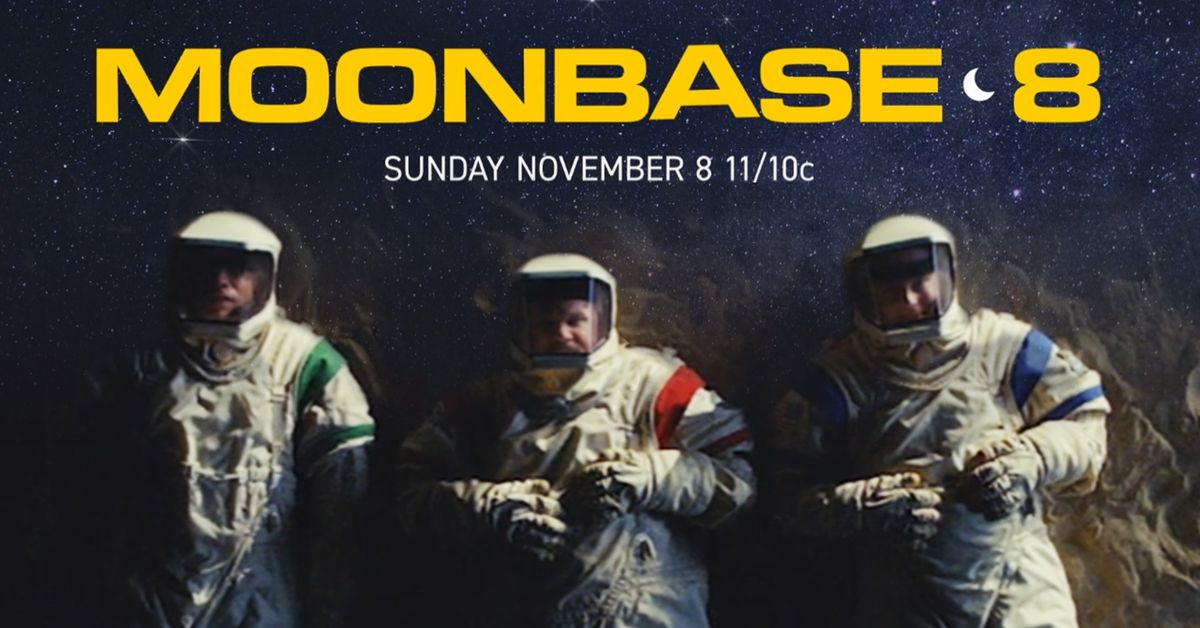 Watch the Series Premiere of the New SHOWTIME Comedy Series Moonbase 8.