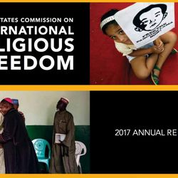 The report offered an overview of what's new in international religious freedom efforts.