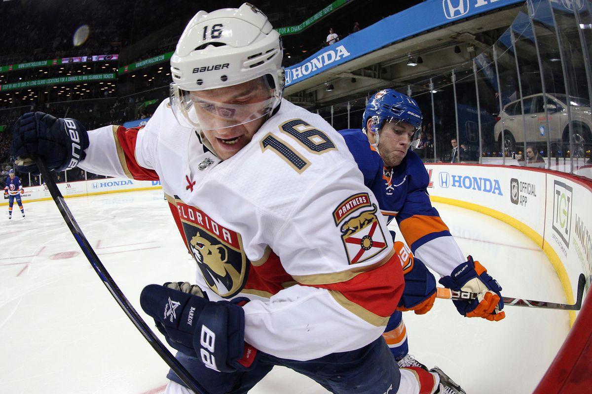 NHL: Florida Panthers at New York Islanders