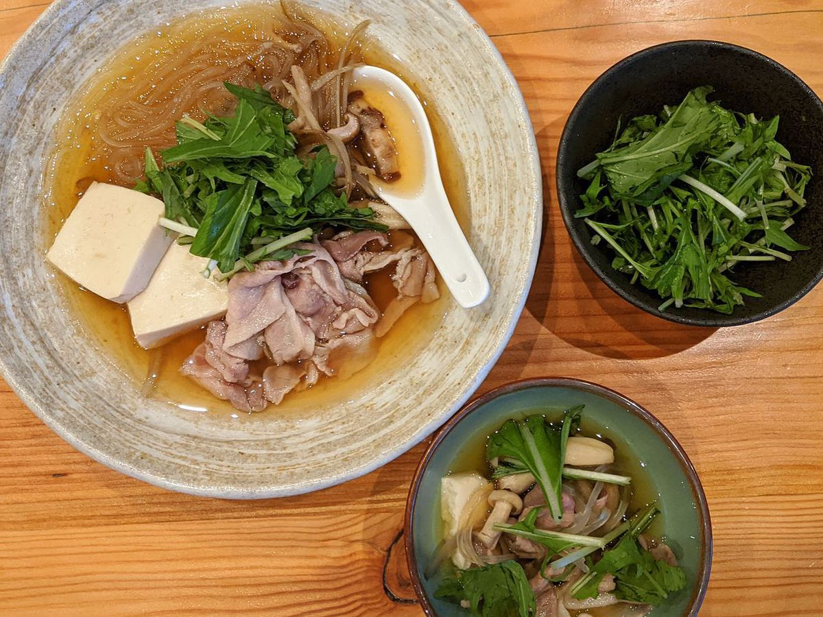 Fish & Bird's pork nabe is now available as a to-go kit for customers to assemble at home