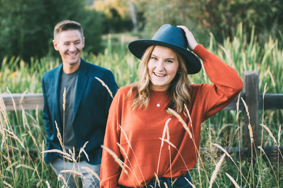 """Mat and Savanna Shaw, a father-daughter singing duo from Utah, recently announced a new album called """"The Joy of Christmas."""""""