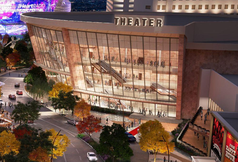 Monte Carlo theatre concert hall rendering