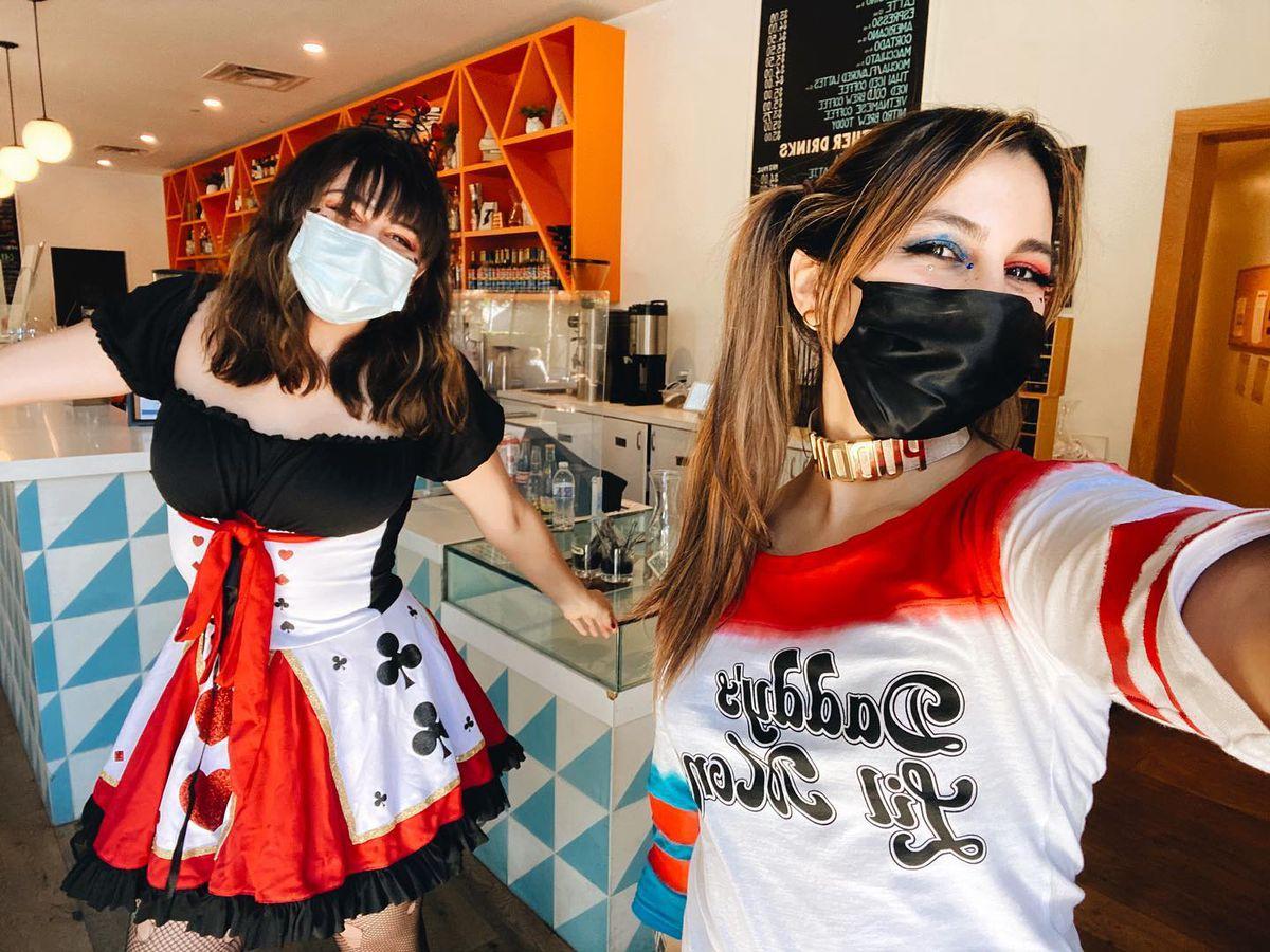 Halcyon Mueller staffers' Halloween costumes