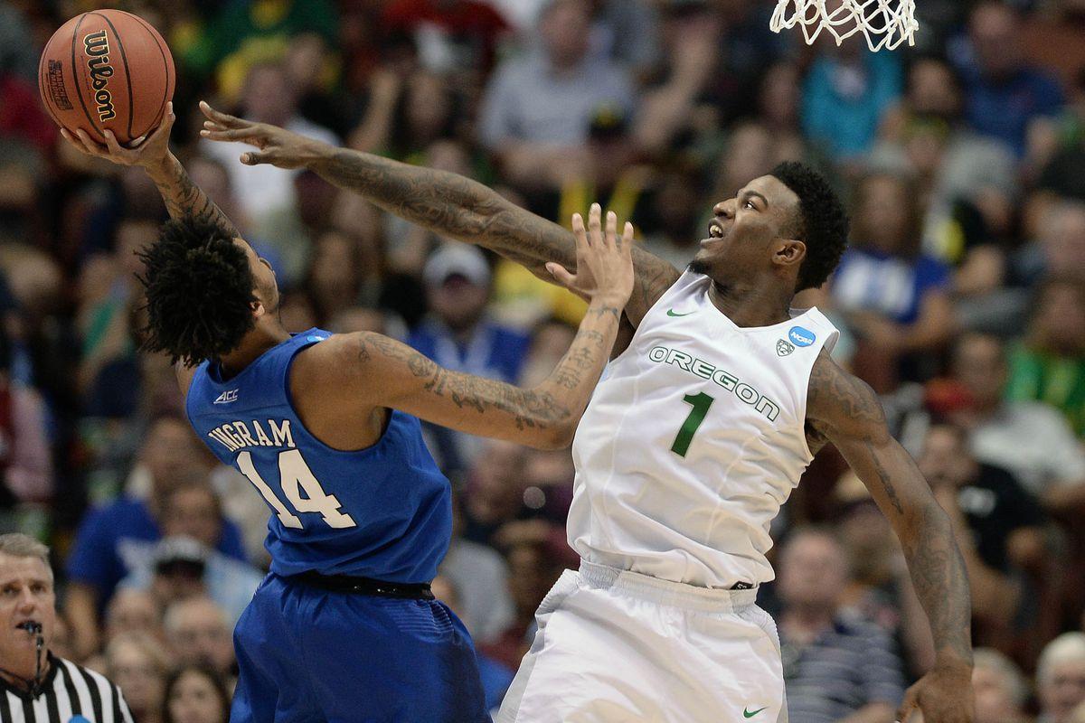 NCAA Basketball: NCAA Tournament-West Regional-Duke vs Oregon