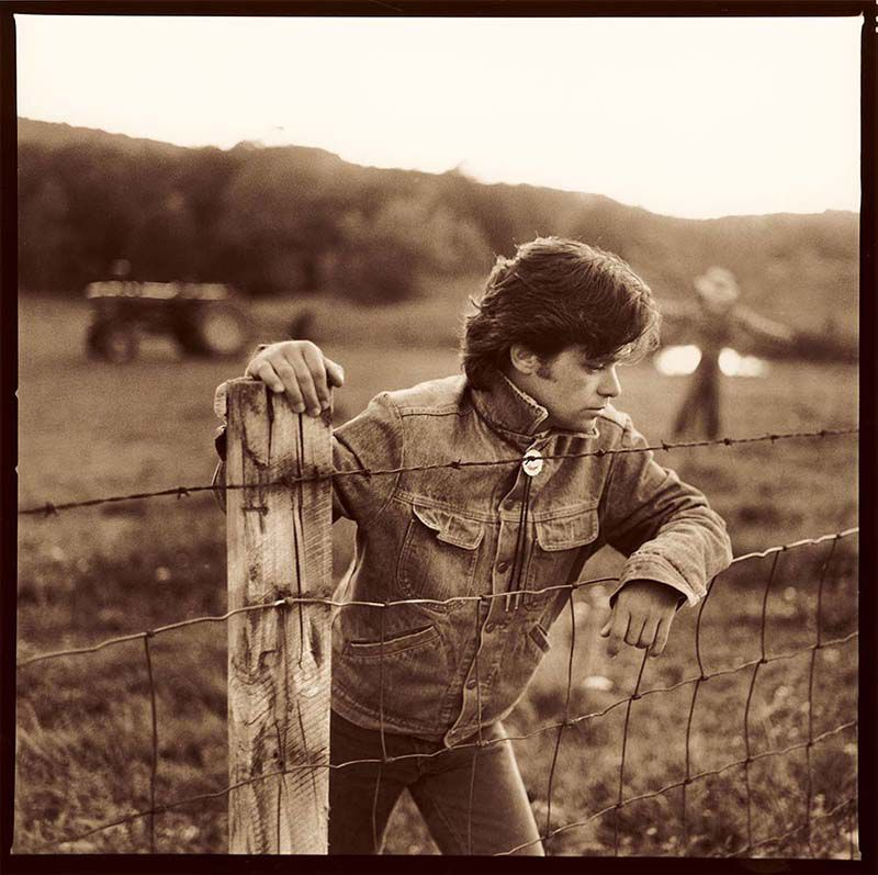 """Marc Hauser photographed John Mellencamp for the cover of Mellencamp's """"Scarecrow"""" album. 
