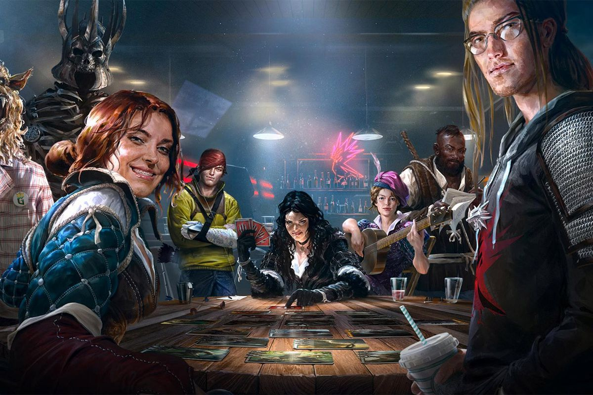 Dark Horse Comics Will Release A New Book Based On The Art Of Witchers Card Game Gwent Next Year Company Announced Today