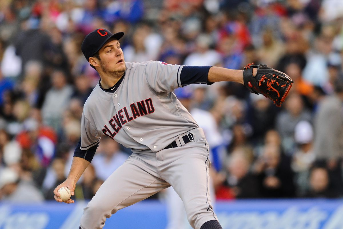 Trevor Bauer is one pitcher that might benefit from more fastballs at the top of the zone.