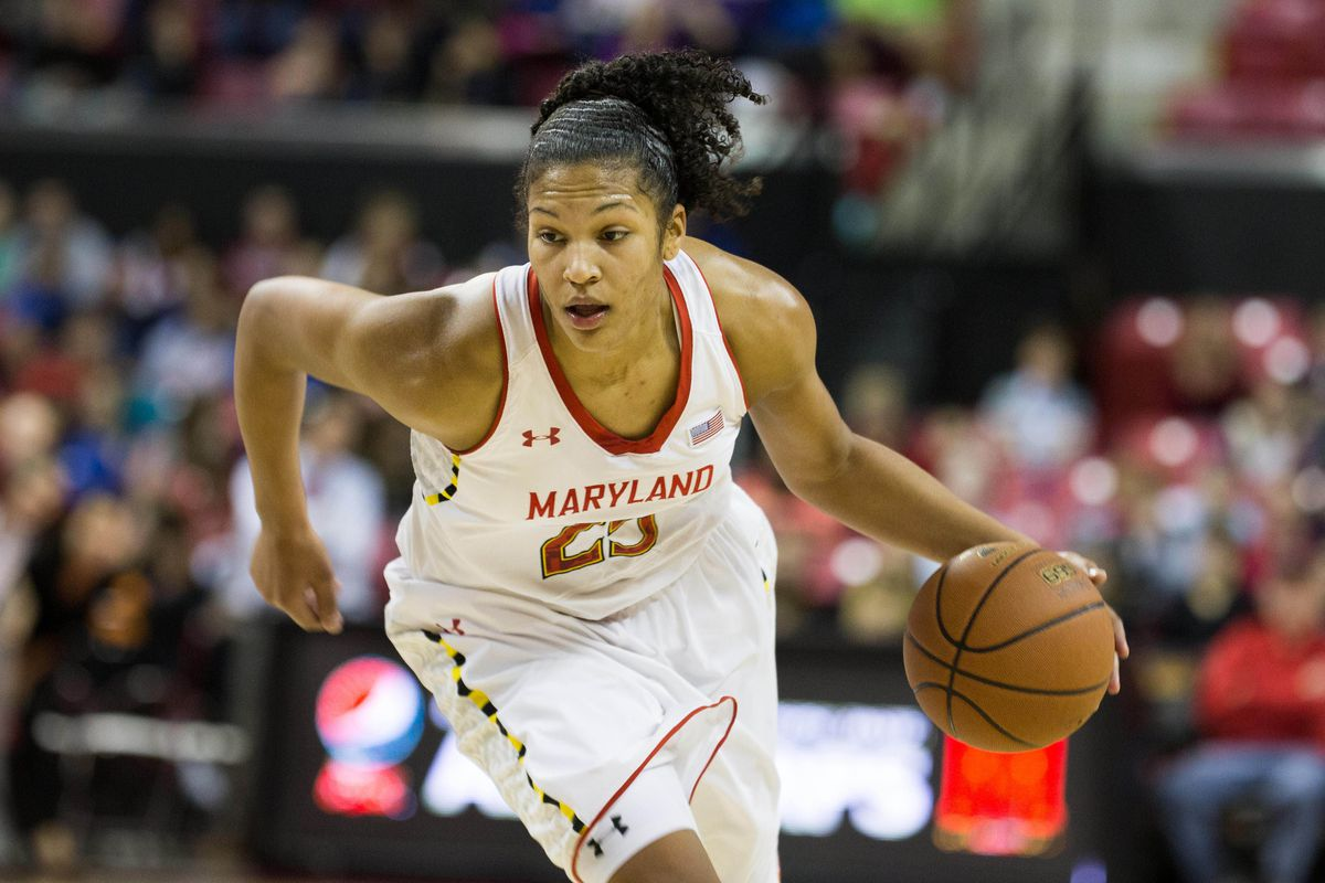 Alyssa Thomas had one of her best games of the season to help Maryland top Florida State.