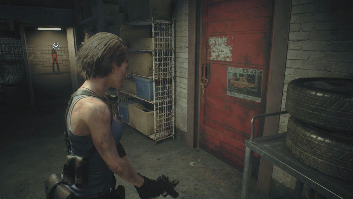 Resident Evil 3 Garage Safe Room