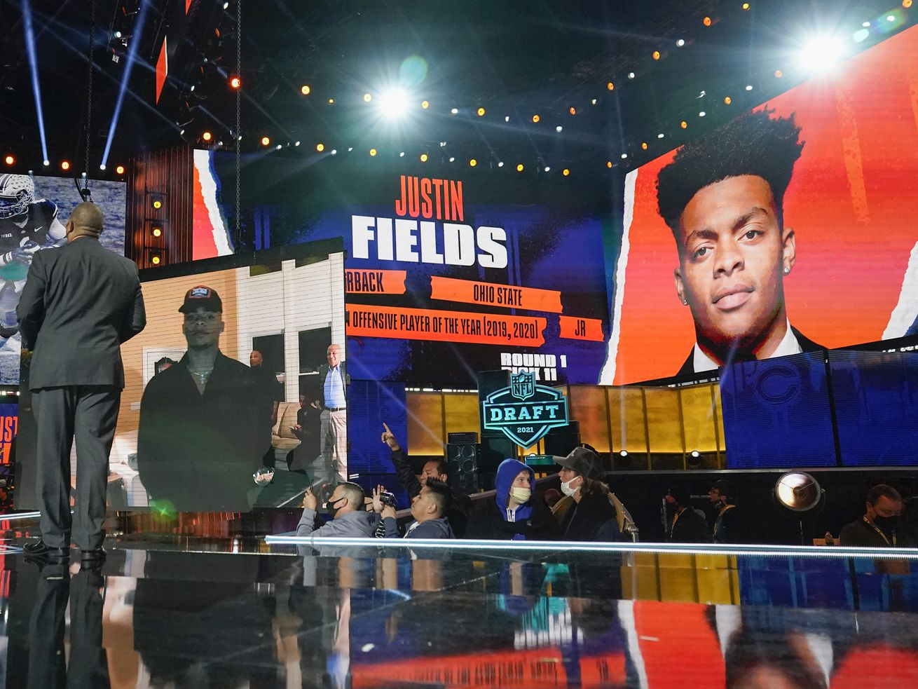 From the moment his name was announced at the NFL Draft, Bears quarterback Justin Fields has faced high expectations.