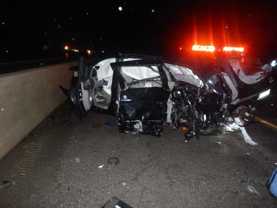 9 hurt in crash on water-covered I-80/94 lanes in NW Indiana