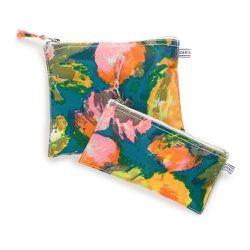 Chris Benz Canvas Zipper Pouches, $30