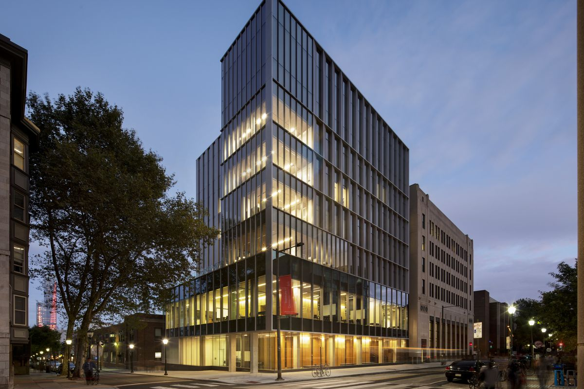 The Perelman Center, an adaptive reuse project, wraps up at UPenn