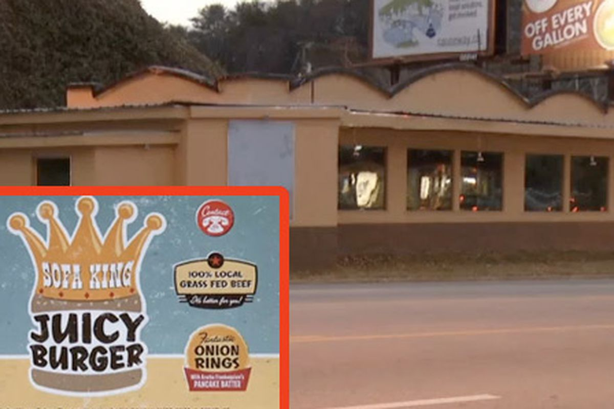 Sofa King Juicy Burgers Name Sort Of Rocks TN Town Eater - Sofa king