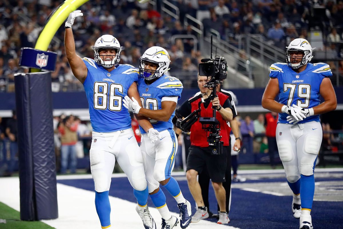 27c7f76fe Los Angeles Chargers Daily Links  How good can Hunter Henry be ...