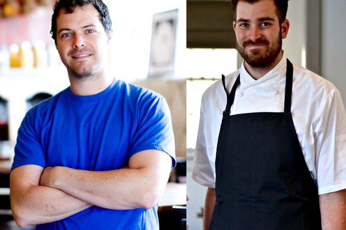 Bryce Gilmore and Grae Nonas