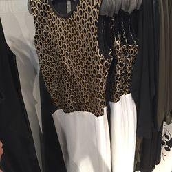 Circle lace detail dress, $598 (was $2,390)