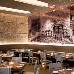"""<strong><a href=""""http://boston.eater.com/places/island-creek-oyster-bar"""">Island Creek Oyster Bar</a></strong>, Kenmore Square. Like the overall concept here, this interior brings together the smartness of a hot, urban restaurant with the textured appeal o"""