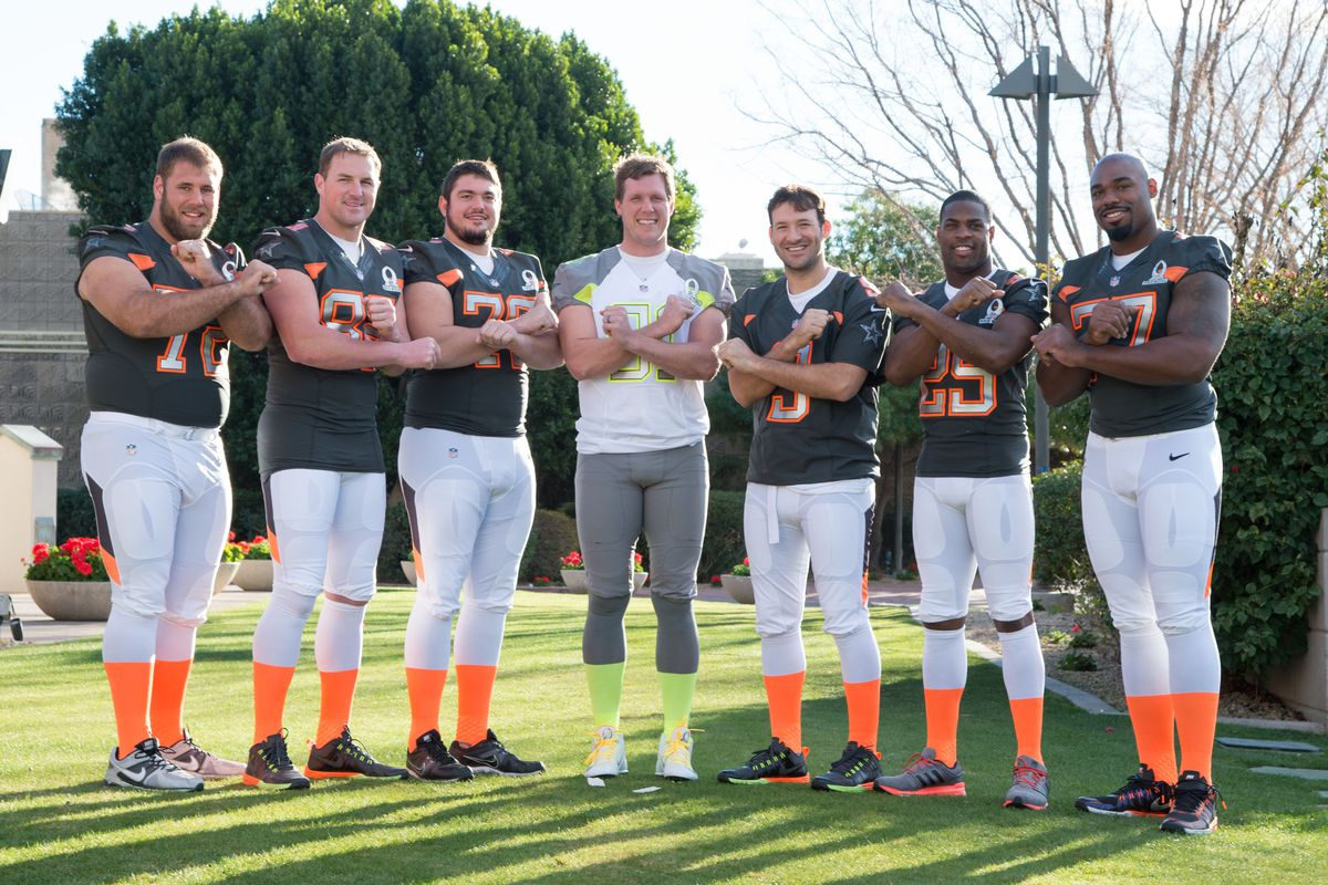 The Pro Bowl talent that was part of the success the Cowboys seek to build on.