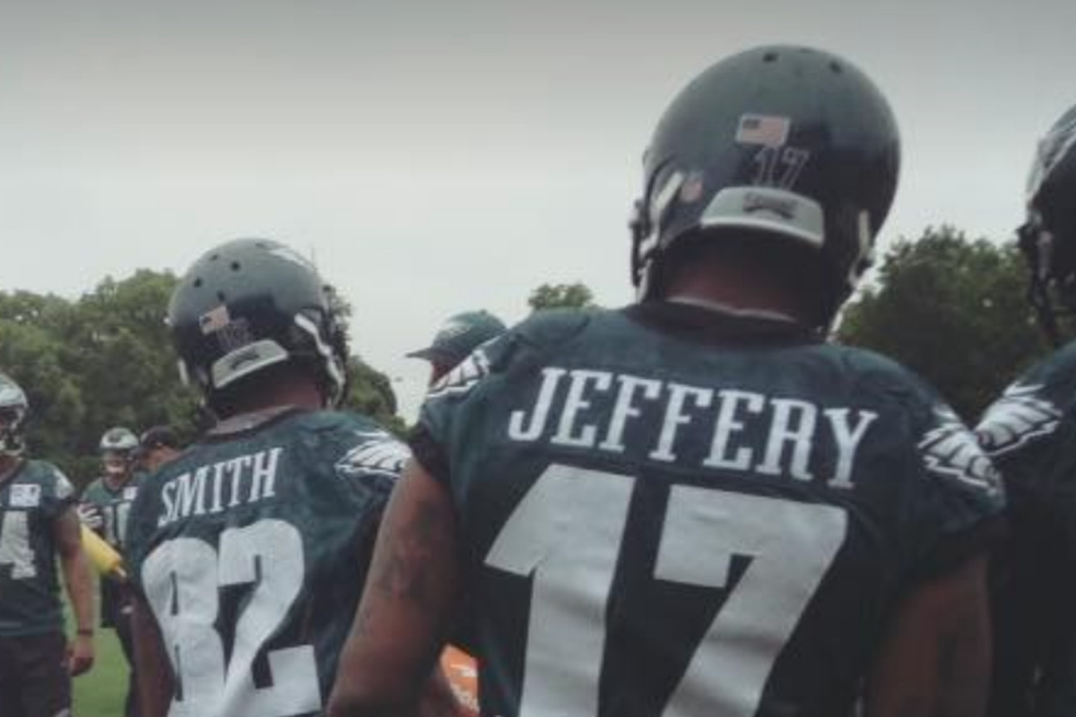 8b428a19df2 Philadelphia Eagles Practice Notes: Alshon Jeffery makes the play of the day