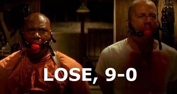 Pulp Fiction LOSE 7-0