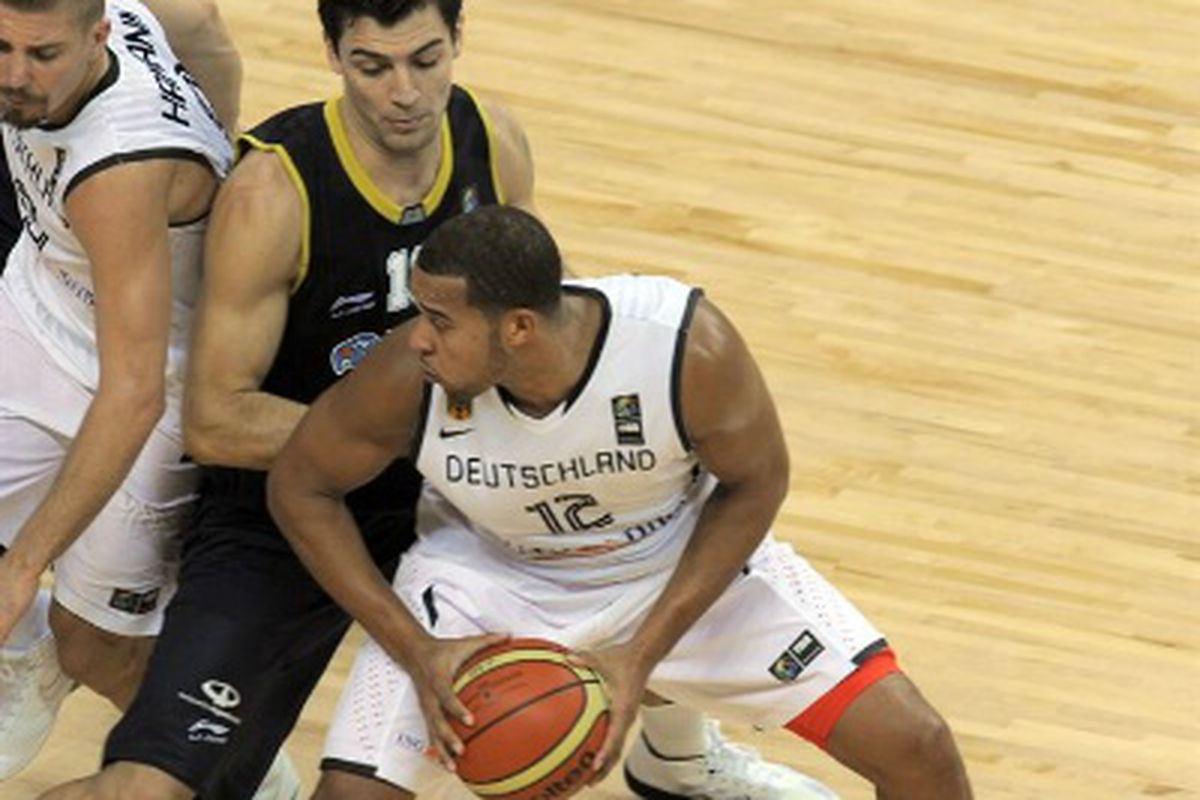 Elias Harris has been a key factor in the great performance from the German National team at the FIBA World Championships.