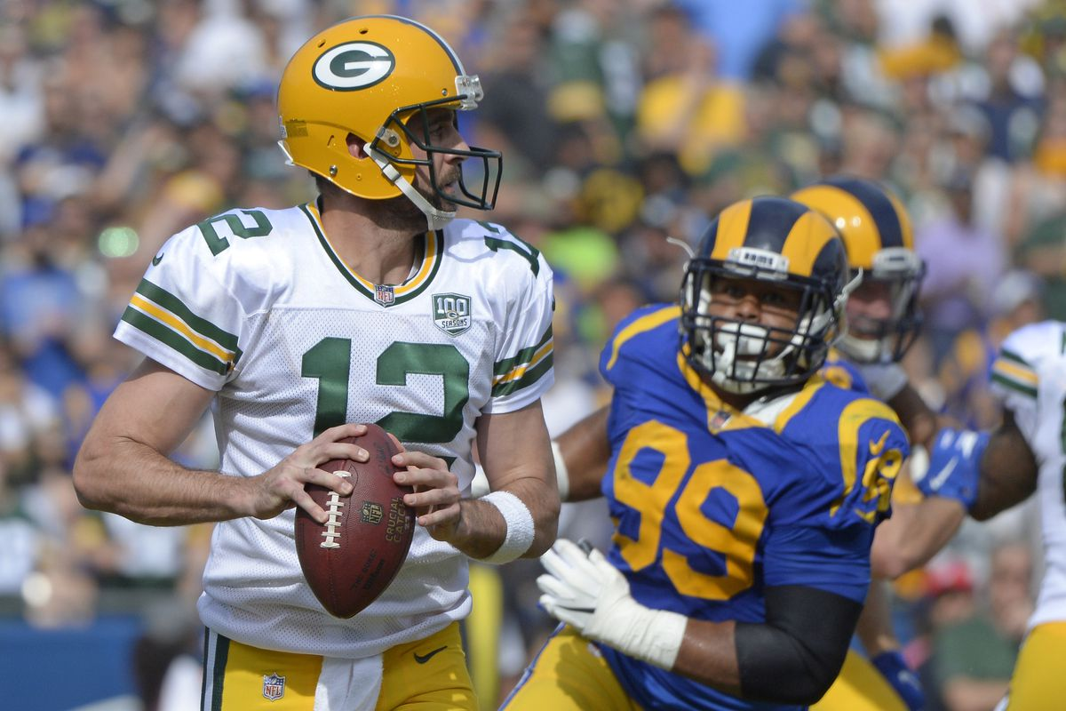 Nfl Divisional Playoffs Weekend Los Angeles Rams Vs Green Bay Packers Hogs Haven