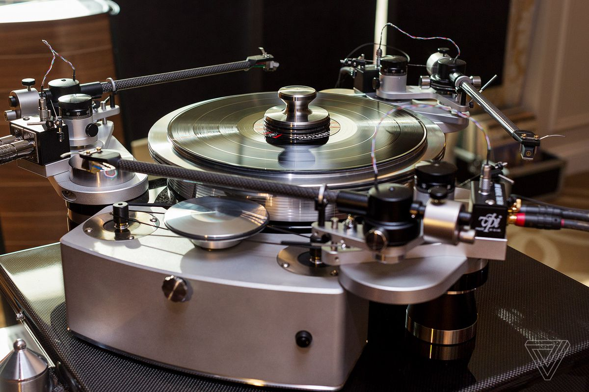 Look at this turntable and try to tell me technology isn't beautiful