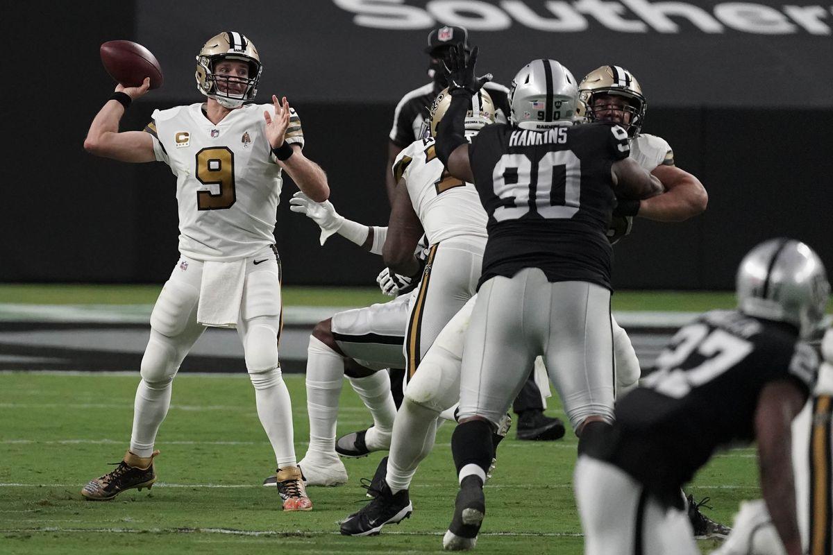 NFL: New Orleans Saints at Las Vegas Raiders