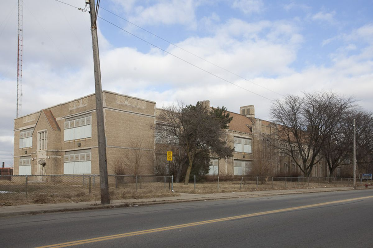 Plans for the new Detroit Latin School involve renovating the former Brady Elementary School building on Detroit's west side.