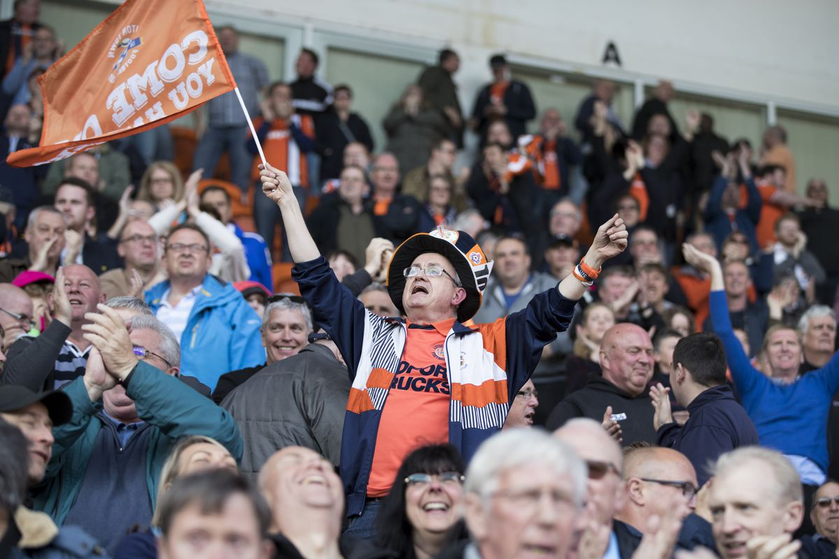 Blackpool v Luton Town - Sky Bet League Two Play off Semi Final: First Leg