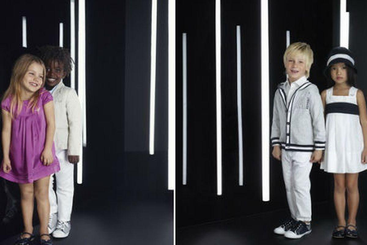 "Armani Junior's latest campaign, image via <a href=""http://news.armani.com/en/armanijunior/experience/news/new-armani-junior-ad-campaign/"">Armani</a>"