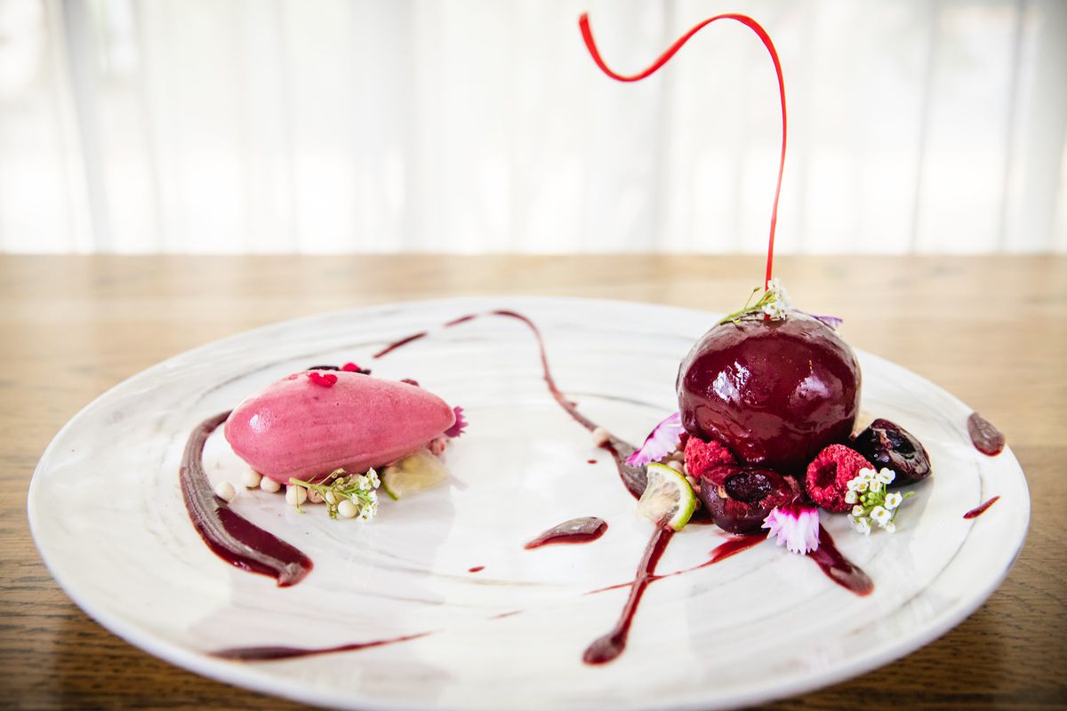 cherry bomb at Georges Trois