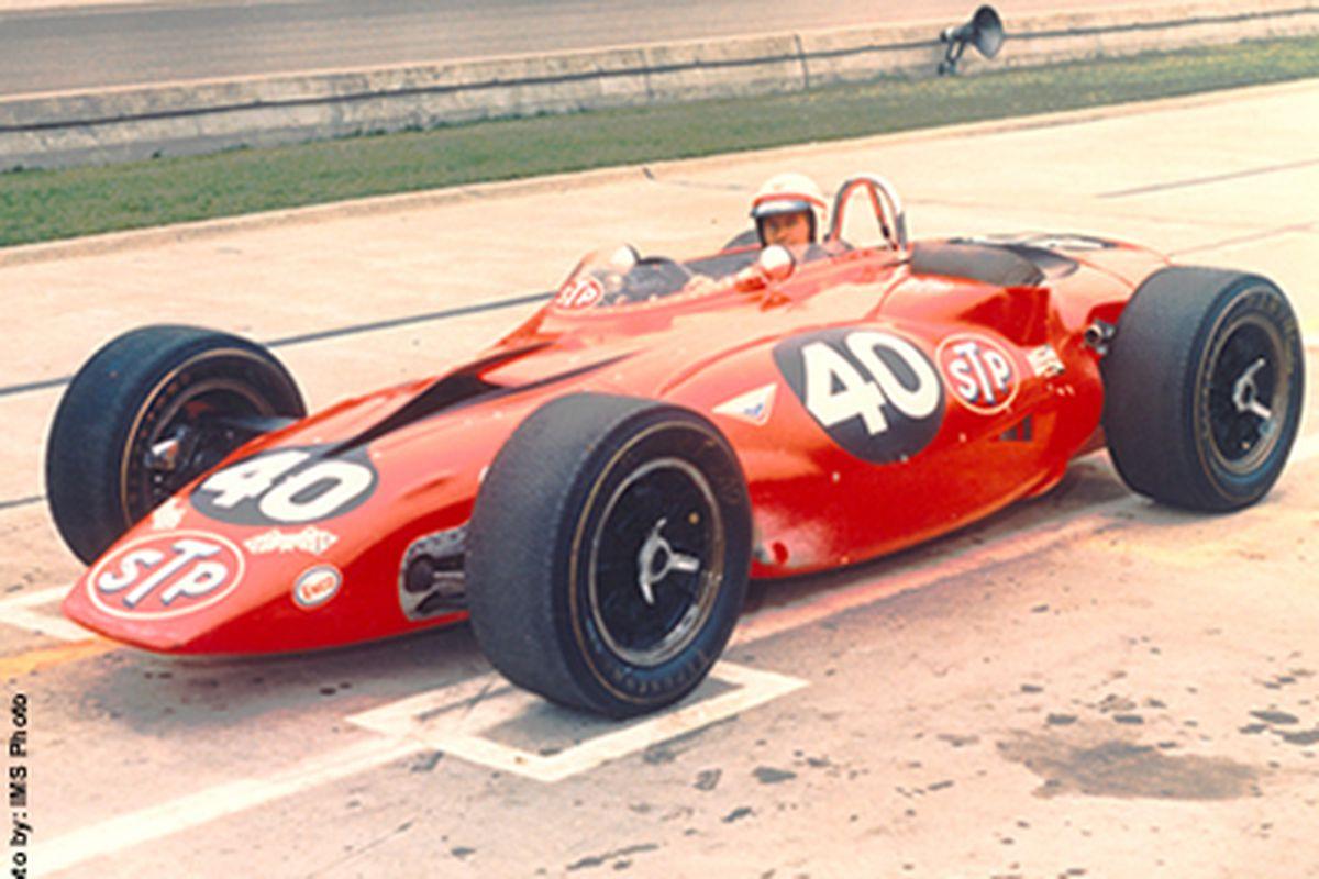 The Andy Granatelli-engineered 1967 turbine-powered IndyCar driven by Parnelli Jones (Photo: IMS Photo)