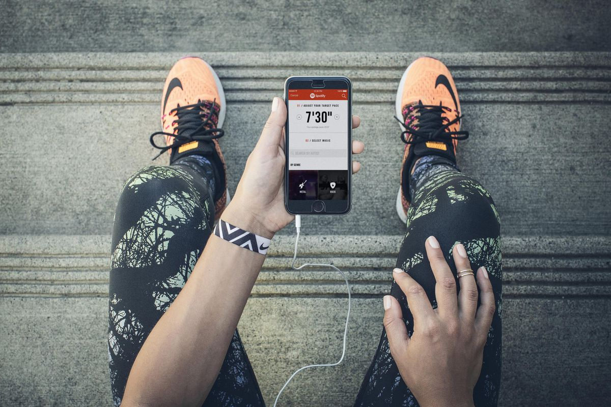 Nike's popular running app can now access Spotify's huge