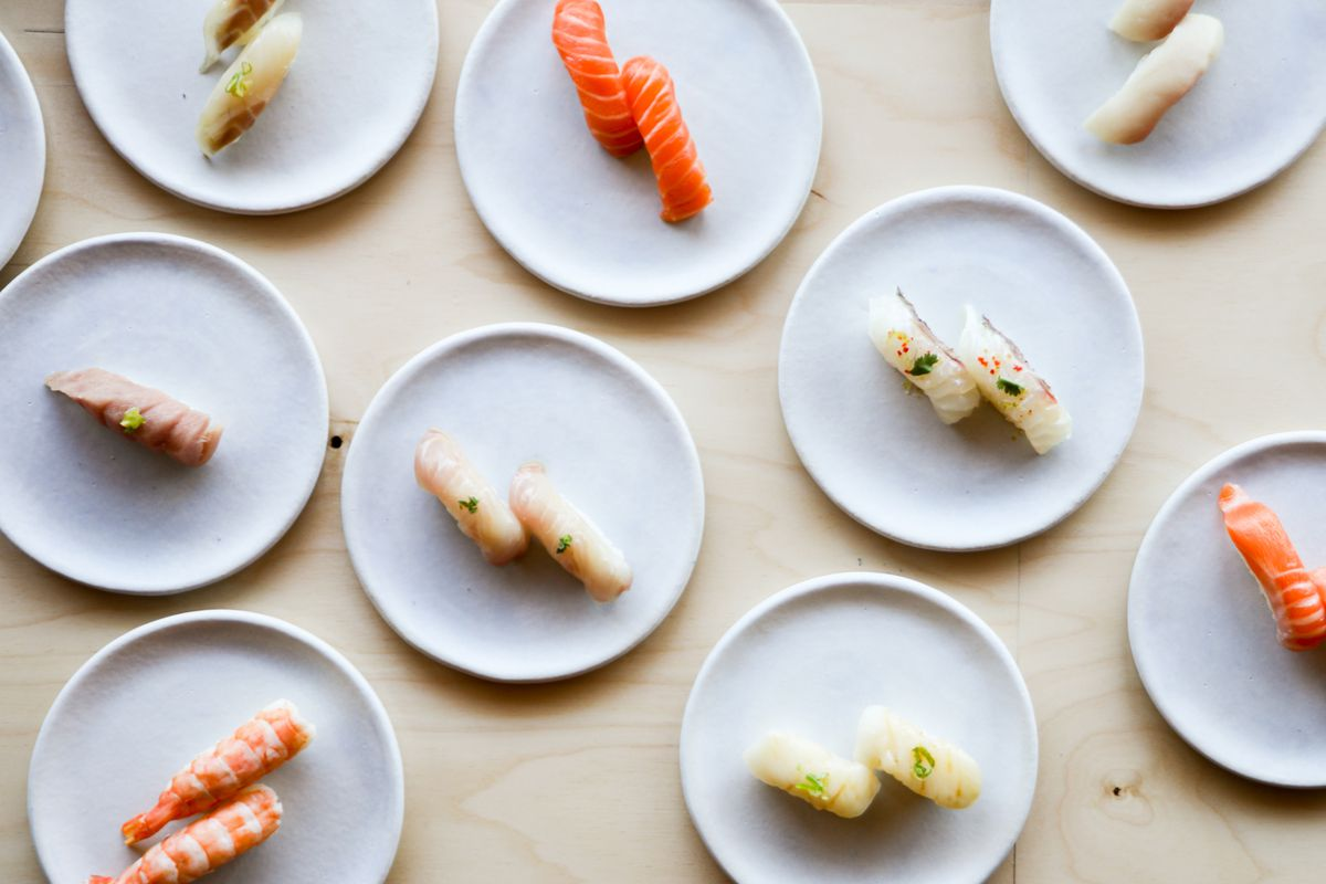 Nigiri from Neighborhood Sushi