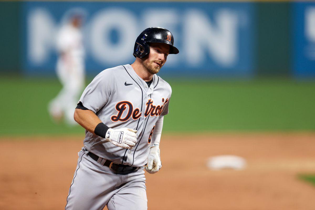 MLB: APR 10 Tigers at Indians