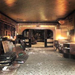 """The former Lenox Lounge, where no progress has been made since Nobu's Richie Notar took it over earlier this year. [Photo: <a href=""""http://harlembespoke.blogspot.com/2013/04/revive-little-progress-at-lenox-lounge.html"""">Harlem Bespoke</a>]"""