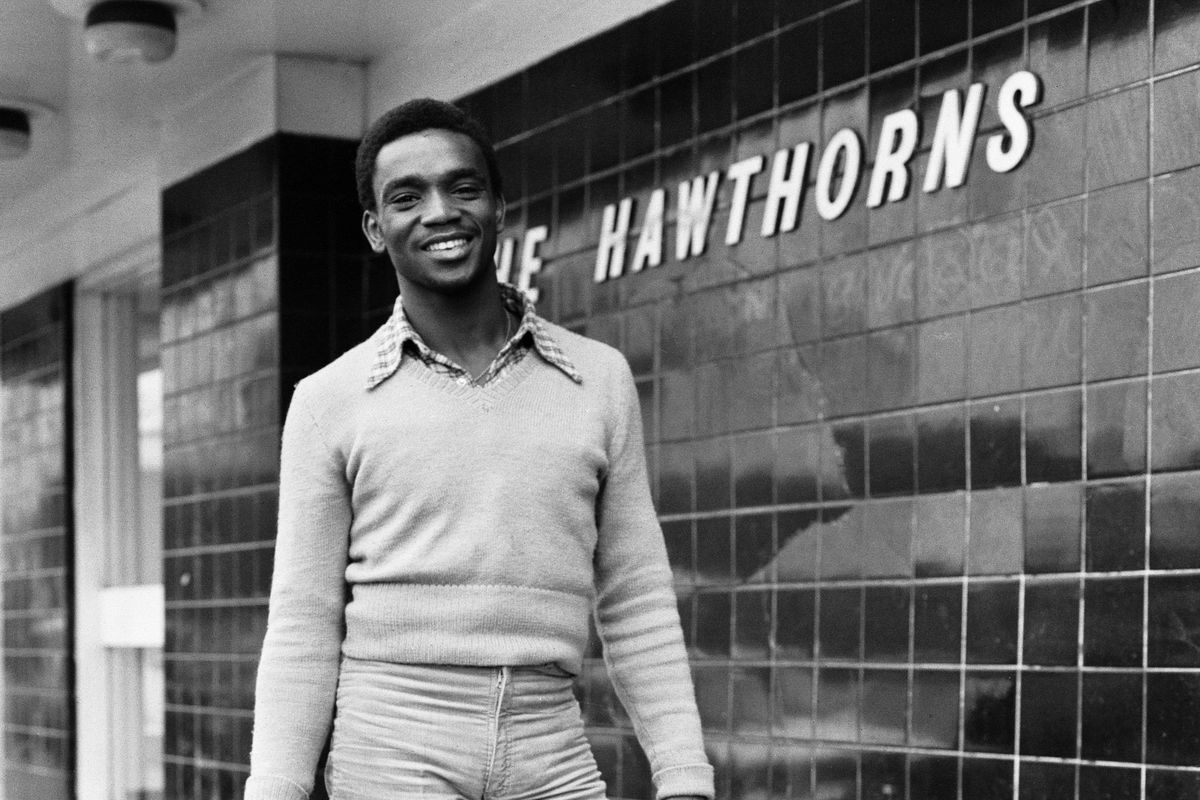 Laurie Cunningham's first day of training at West Bromwich Albion
