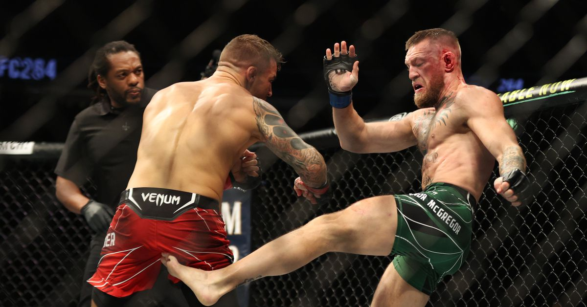 Conor McGregor gives update on UFC 264 leg injury: 'I feel like I could kick right now'