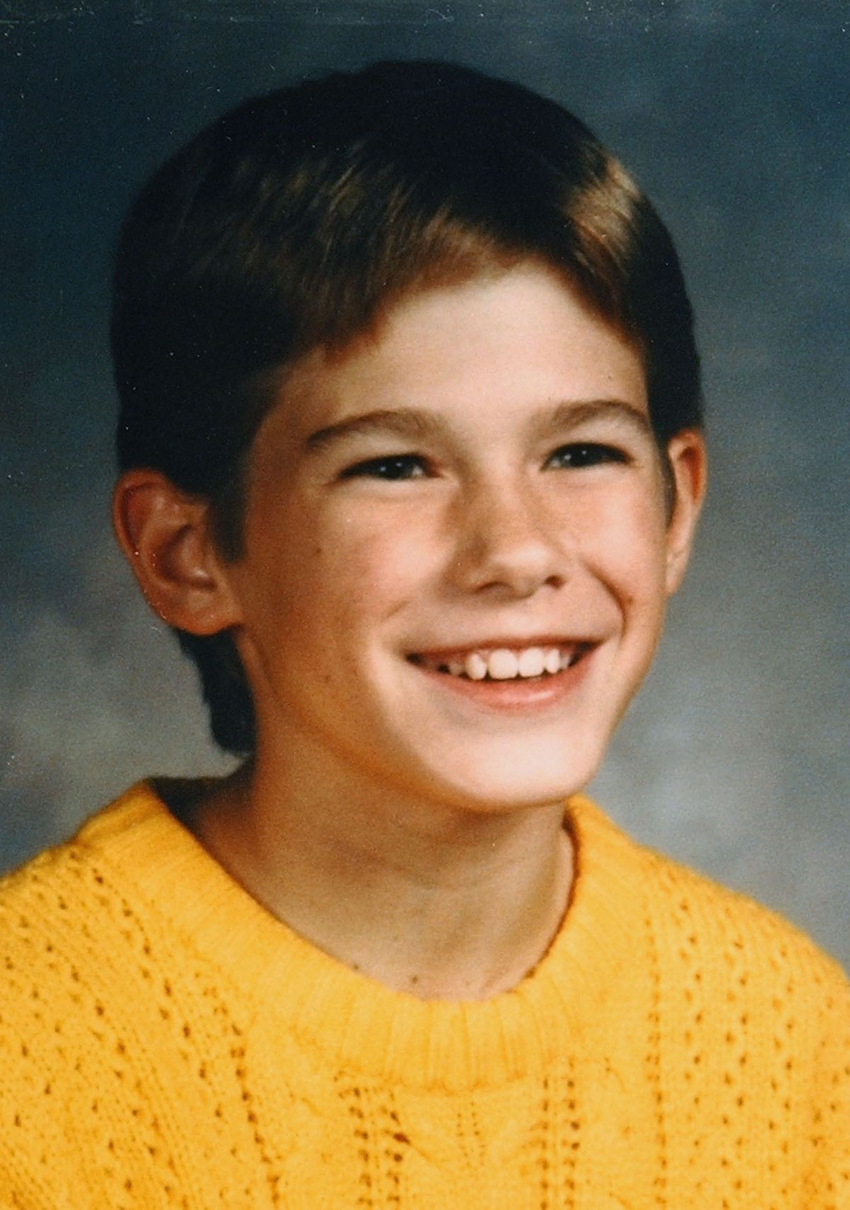 This is a 1989 family photo of Jacob Wetterling, 11, who was abducted at gunpoint near his home in St. Joseph, Minn., on Oct. 22, 1989.   AP Photo/Wetterling family